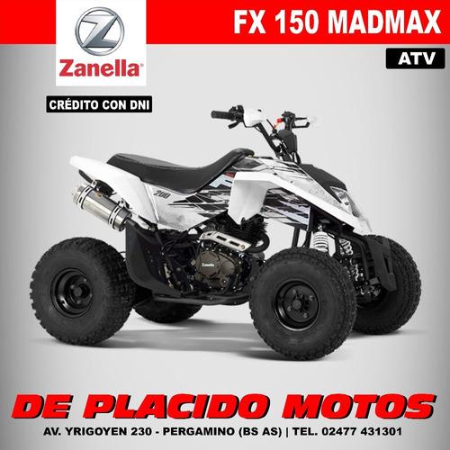 cuatriciclo zanella fx 150 madmax