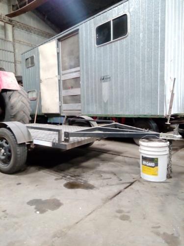 cuatriciclo zanella fx 400 sporting + trailer plegable