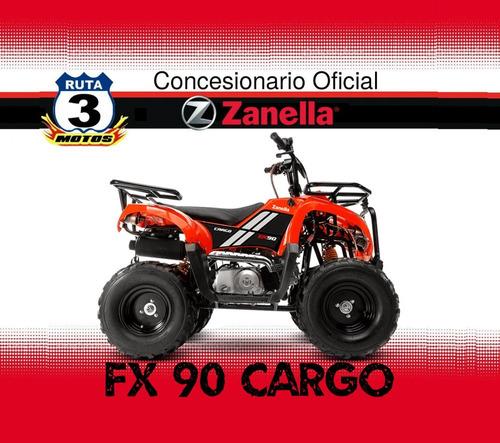 cuatriciclo zanella fx 90 cargo 0 km  2018