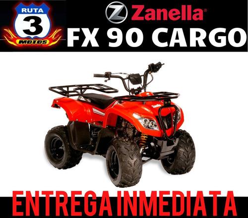 cuatriciclo zanella fx 90 parrillero 0 km  2018