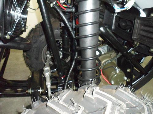 cuatriciclo zanella g-force 250 serie 2 s2 parrillero
