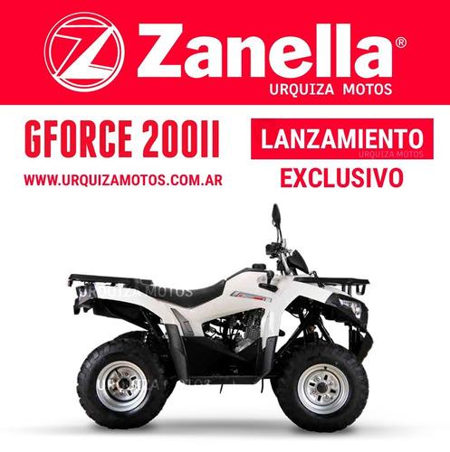 cuatriciclo zanella gforce 200 ii 2017 0km lanzamiento quad