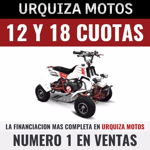 cuatriciclo zanella mini kids 50 urquiza motos