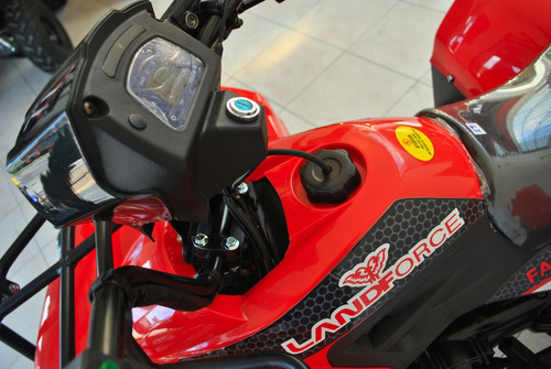 cuatriciclos 0km - nuevo -  automático - 125cc - rojo