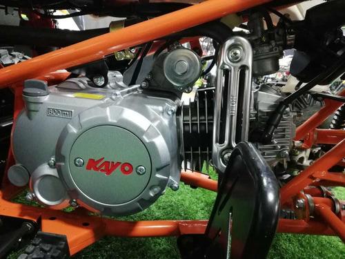 cuatrimoto 110cc nueva a gasolina kayo