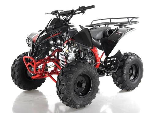 cuatrimoto 125 cc auotmática con reversa sportrax raptor plr