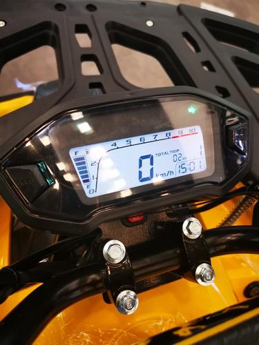 cuatrimoto 125cc aro 8 focos estroboscopicos