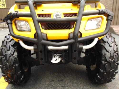 cuatrimoto can am 2009 outlander 400cc 4x4 nacional!
