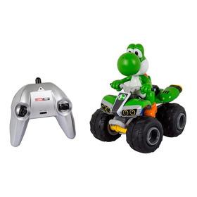 Cuatrimoto Control Remoto Mario Kart  Yoshi