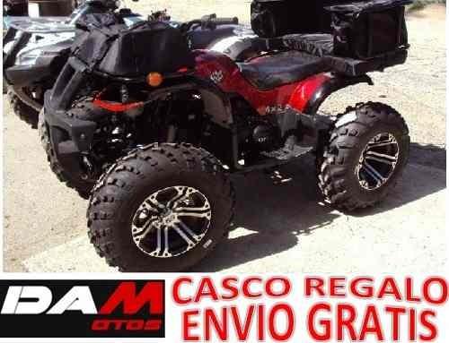 cuatrimoto hunter 150cc automatica reversa p/adultos damotos