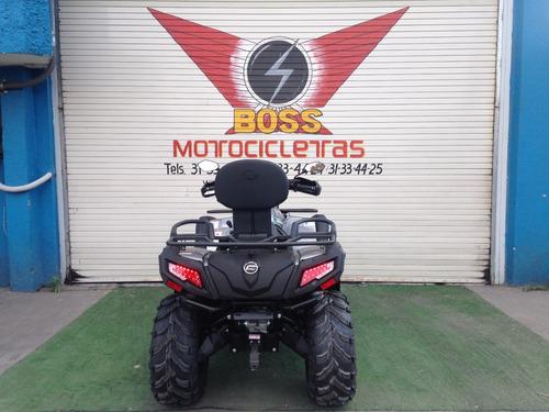 cuatrimoto marca cfmoto estilo cforce 550cc 6l 4x4 nueva
