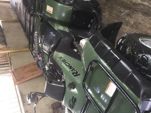 cuatrimoto mca.honda rancher ,350 cc,4x4 .