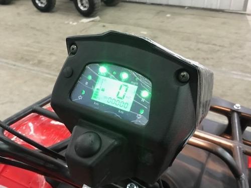 cuatrimoto modelo hummer automatica con revresa aro 10