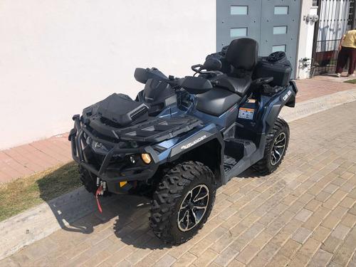 cuatrimoto outlander max 1000 cc, año 2018, factura original