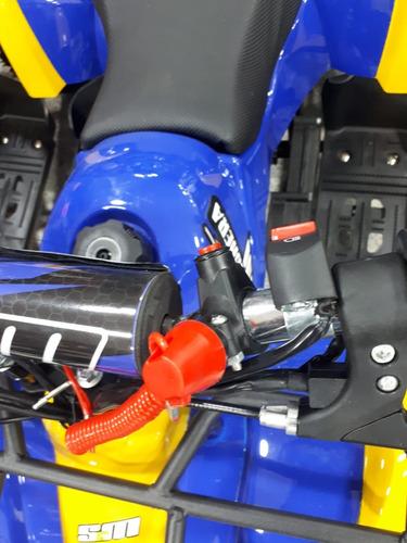 cuatrimoto para niños a gasolina con encendido boton nuevas