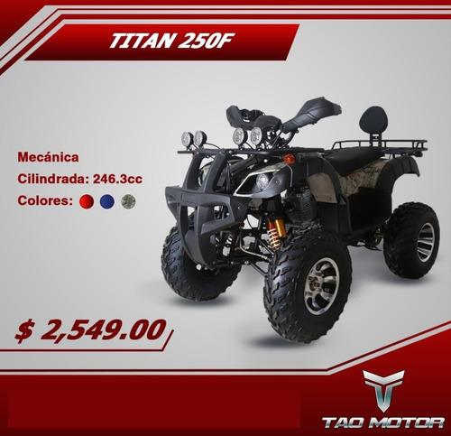 cuatrimoto titan 200f  superfull 0 klm 2020 100% repuestos