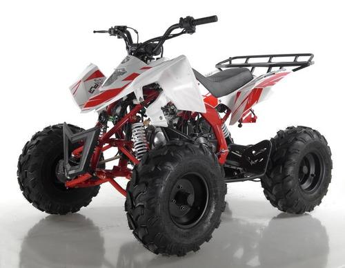 cuatrimotos 125 cc modelo 2019 cero km polar raptor blanca