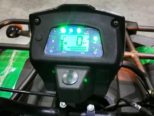 cuatrimotos 250cc con marcha atras, con tacometro digital