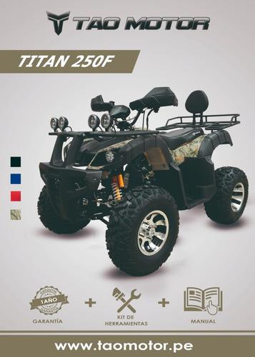 cuatrimotos y buggys nuevos marca tao motor