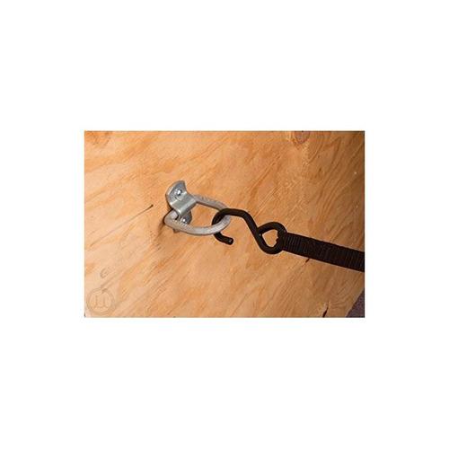 cuatro anclas de amarre anulares 1/2 d con sujetador atornil