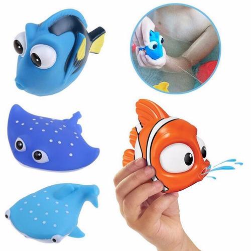 cuatro animalitos acuáticos sopladores agua jugar bañera