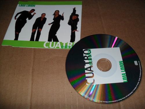cuatro estrofas lima limon cd sencillo promo muy raro (i)