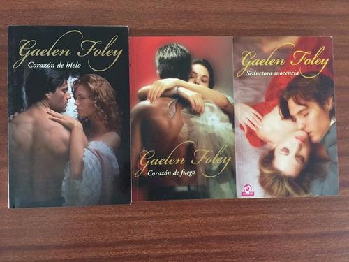 cuatro libros de gaelen foley