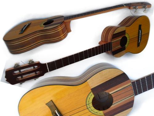cuatro profesional con cuerdas sonora y excelente clavijas