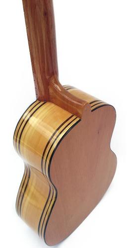 cuatro profesional de conciertos 17 trastes madera pino