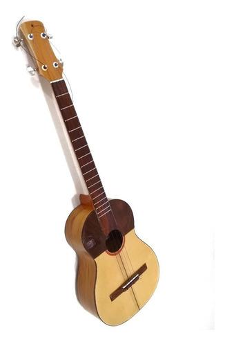cuatro venezolano profesional de concierto madera teca pino