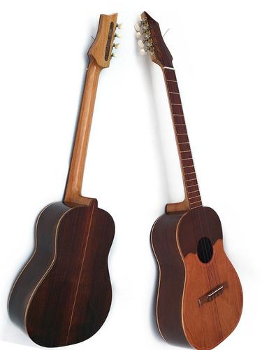 cuatros profesionales de concierto 17 trastes madera caoba