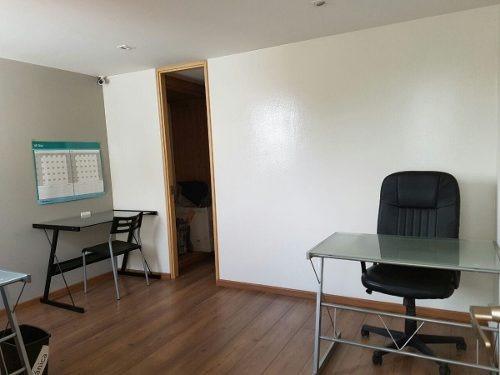 cuauhtemoc, oficina de 92m2 con excelente ubicación en renta