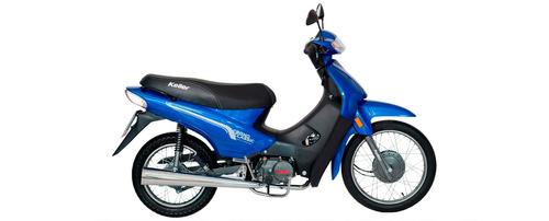 cub scooter keller eco 110 0km urquiza motos