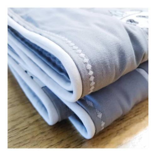 cub011- cubre cama cobertor para cuna medidas 1.60x 1.00