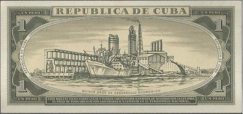 cuba 1 peso 1975 p106a
