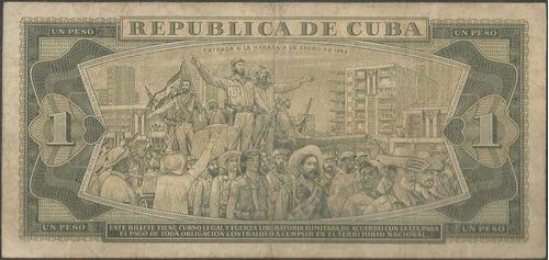 cuba 1 peso 1982 p102b