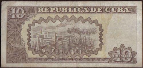 cuba 10 pesos 1997 p117a