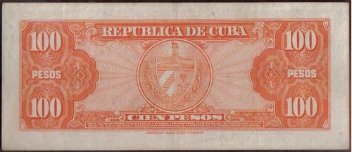 cuba 100 pesos 1959 p93a