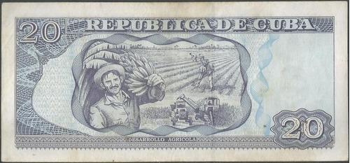 cuba 20 pesos 2005 p122b