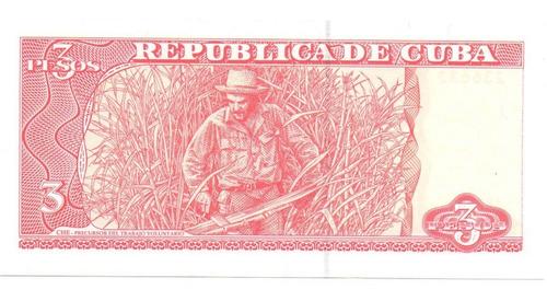 cuba 3 pesos che guevara 2005 *radar* 236632* * xf+*