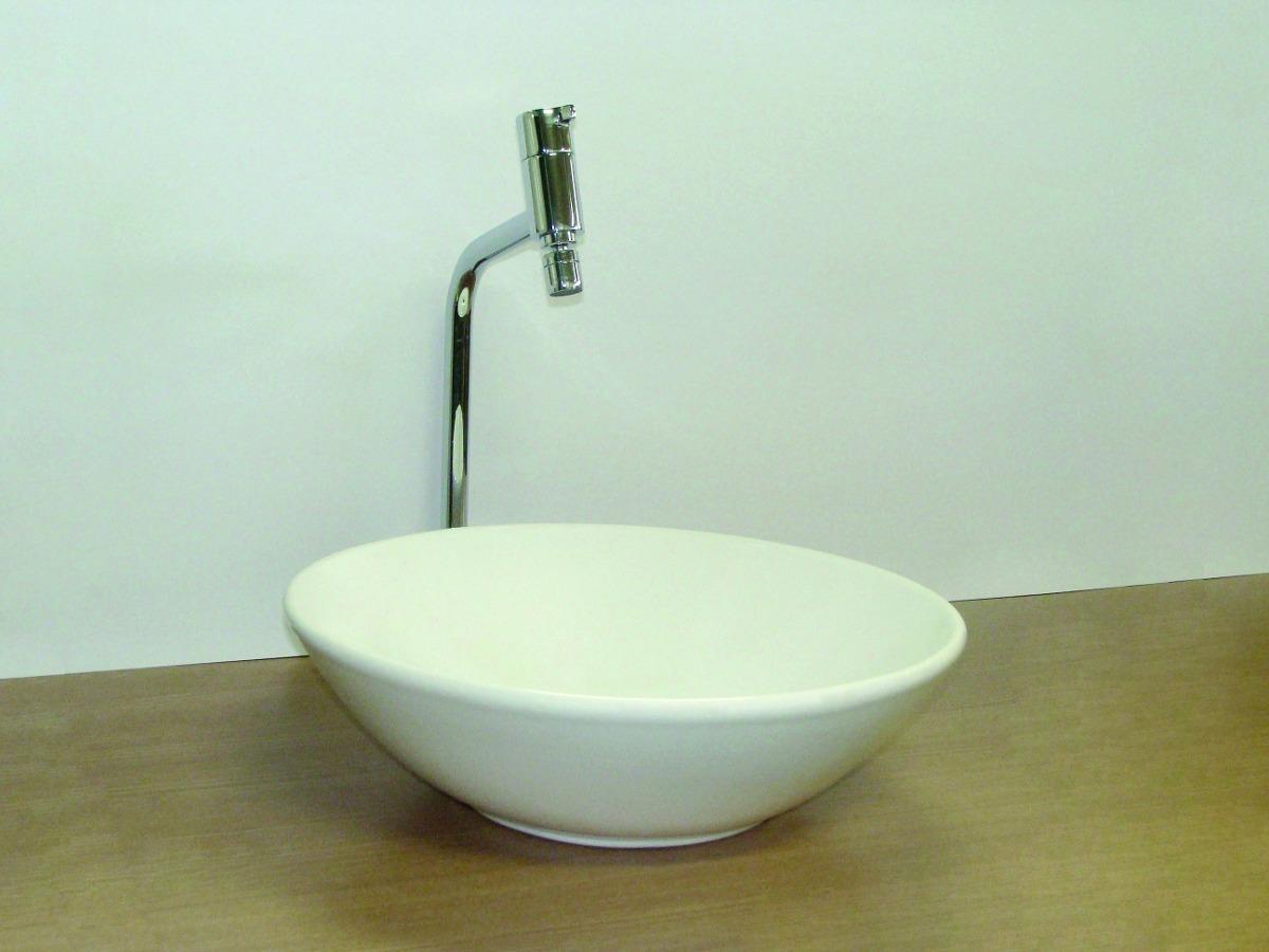 Cuba Apoiosobrepor Porcelana Redonda Para Banheiro Bolonha  R$ 229,90 em Me # Torneiras Para Banheiro Cuba Sobrepor