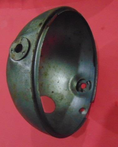 cuba carcaça farol ft50 gt50 gt80 mini enduro yb50 fs1 metal