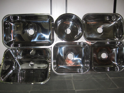 cuba de aço inox 304 industrial 48x33x25
