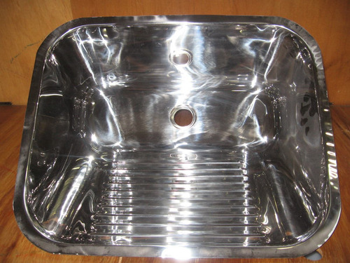 cuba de aço inox 304 industrial 56x34x50