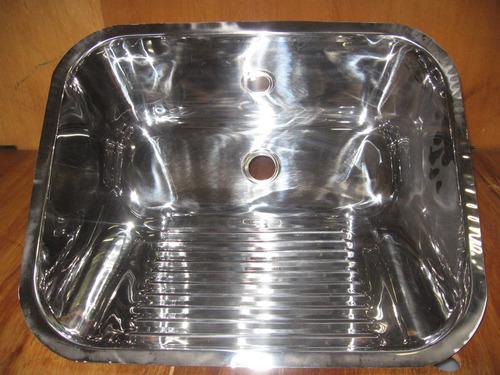cuba de aço inox 304 industrial 60x40x25