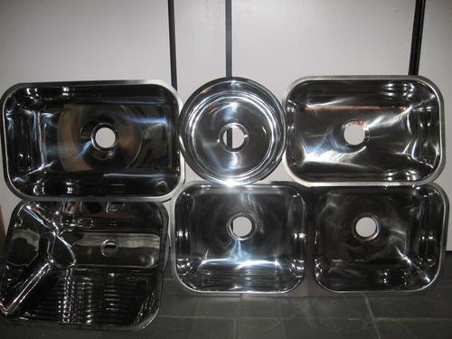 cuba de aço inox 304 industrial 65x40x37