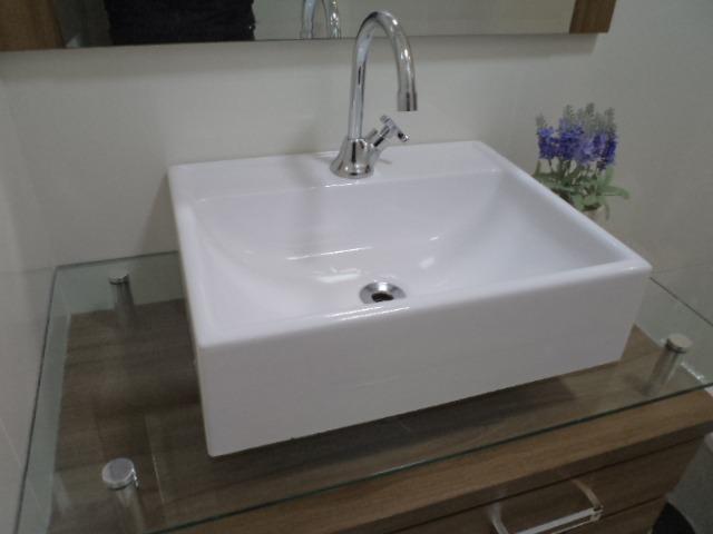 Cuba De Apoio Moderna Lavatório Para Banheiro E Lavabo  R$ 124,90 em Mercado -> Cuba Para Lavatorio Banheiro