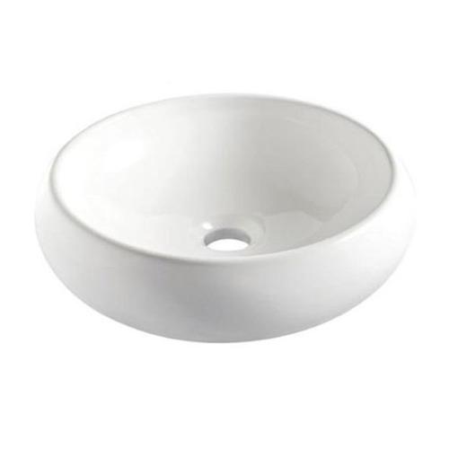Cuba De Apoio Oval Ica9 Branca 400x300mm Icasa  R$ 194,50 em Mercado Livre -> Cuba Para Banheiro De Sobrepor Oval Branca Icasa