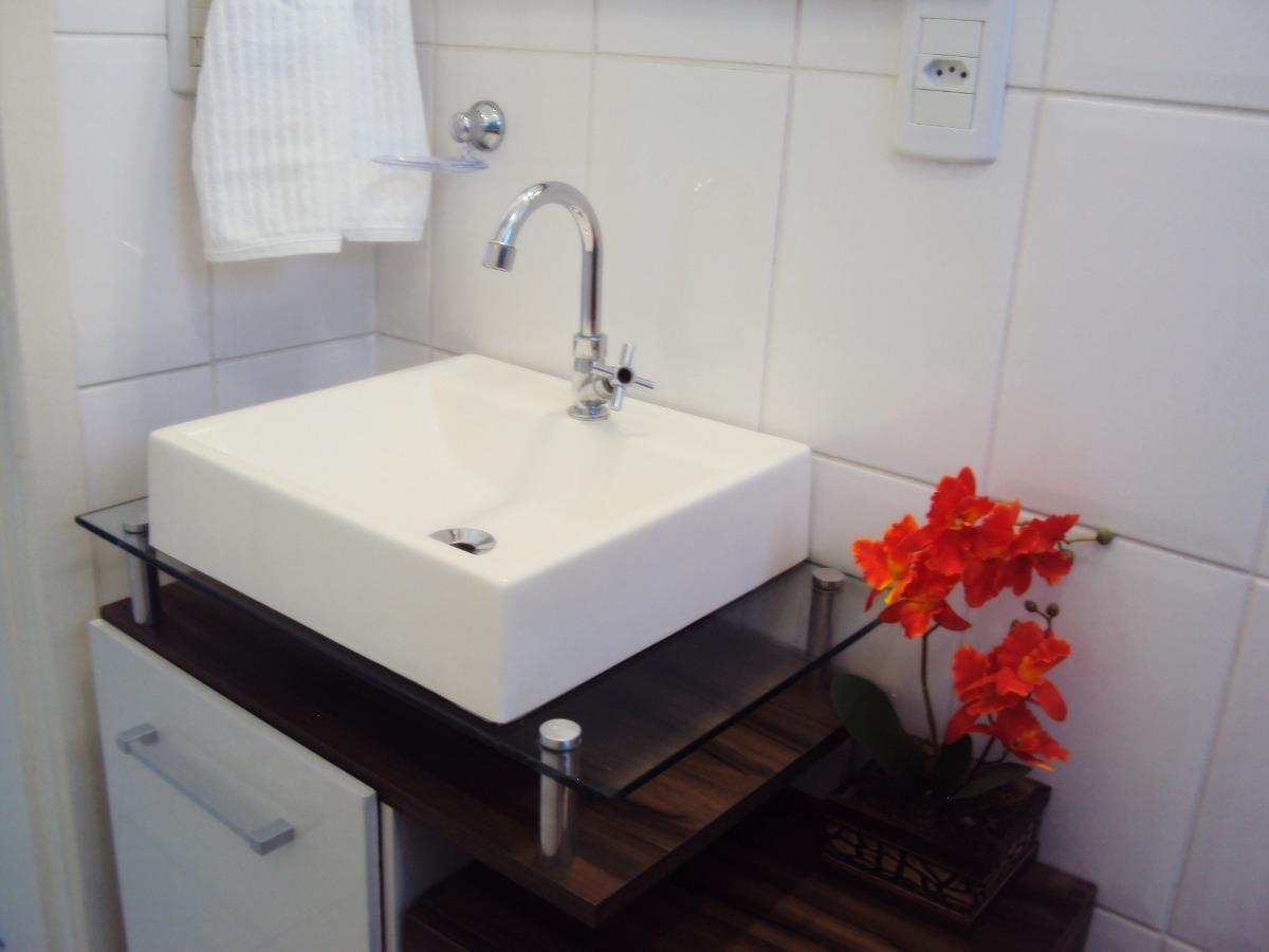 Cuba De Apoio Tendência Lavatório Para Banheiro E Lavabo  R$ 85,90 em Mercad -> Cuba Para Banheiro De Vidro Vermelha