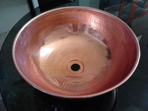 cuba de cobre e tacho bojo com alça  8 litros r$225,00 cada